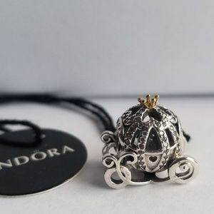 Pandora Disney, Cinderella's Pumpkin Coach Silver